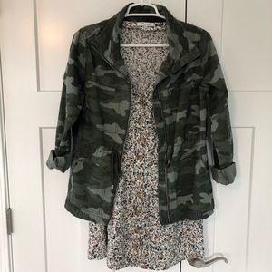 Camouflage jacket, size small